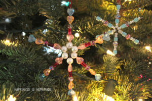 Make Beaded Snowflake Ornaments Instructions