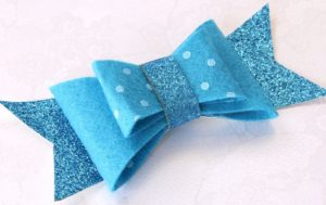 Make Felt Hair Bow Tutorial