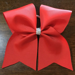 Make Hair Bows for Cheerleaders