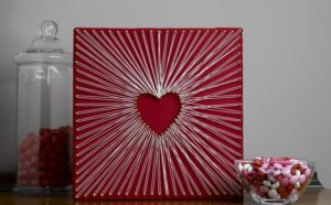Make Your Own DIY String Art Heart