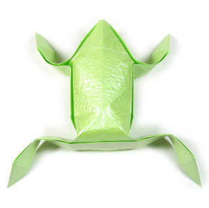 Make Your Own Origami Frog