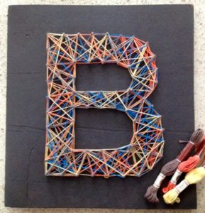Monogram String Art Images