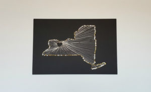 New York String Art Pattern Instructions