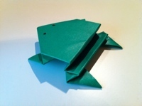 Origami Hopping Frog Instructions