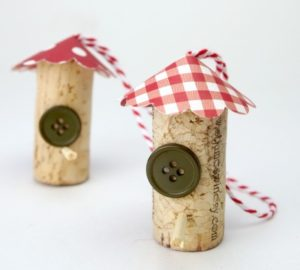Ornaments from Wine Cork