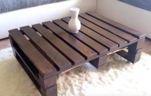 Pallet Wood Coffee Table Designs