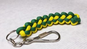Paracord Butterfly Stich Keychain Instructions