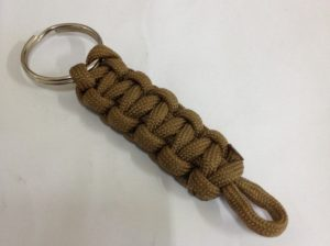Paracord Keychain Ideas