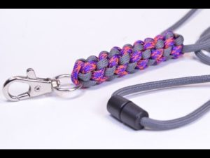 How to make a paracord neck lanyard with buckle