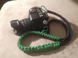 Paracord Neck Lanyard for Camera