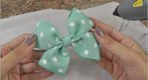 Pretty Hair Bow Ideas