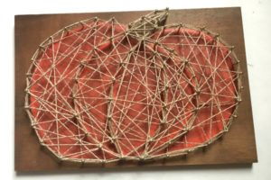 Pumpkin String Art Pattern