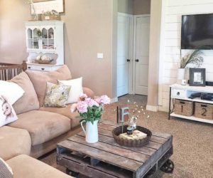 Rustic Pallet Coffee Table Instructions