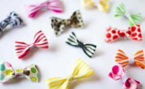 Simple Hair Bows Tutorial