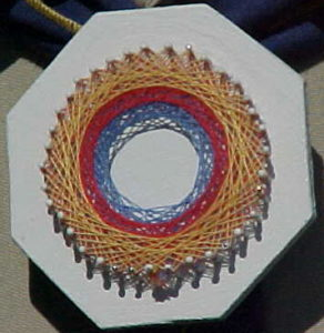 String Art Circle Pattern