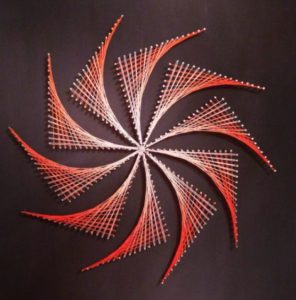 Pinwheel String Art