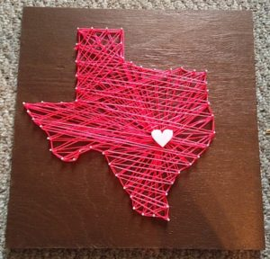 String Art Texas Instructions