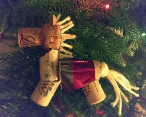 Wine Cork Horse Ornaments