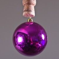 Wine Cork Ornament Ball