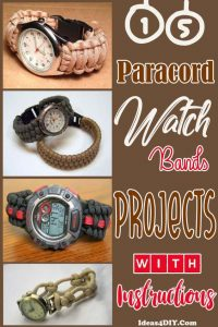 Paracord Watch Bands Projects