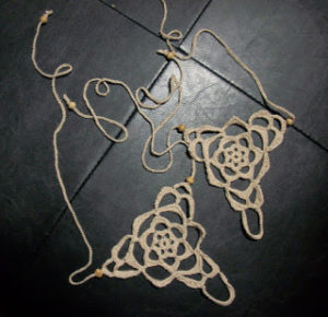 Barefoot Crochet Sandals Images