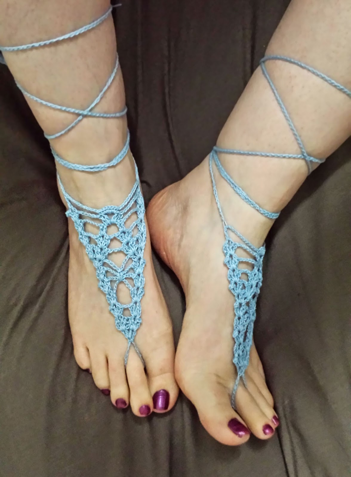 Top 40 Free Crochet Barefoot Sandal Patterns