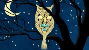Beaded Macrame Owll Tutorial