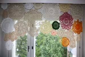 Colorful Crochet Valance Patterns