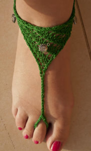 Crochet Barefoot Sandals Instructions