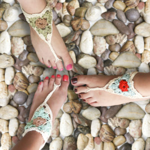 Crochet Barefoot Sandals Patterns