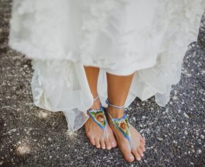 Crochet Barefoot Sandals Wedding