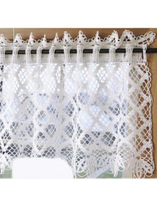 Crochet Curtain Valance