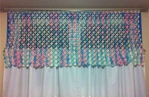 Crochet Valance Tutorial