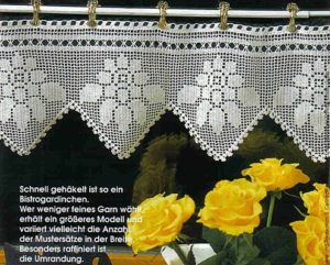 Crochet Valance Instruction