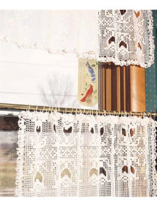 Crochet Valance Window