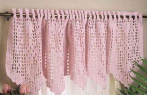 Crochet Window Valance