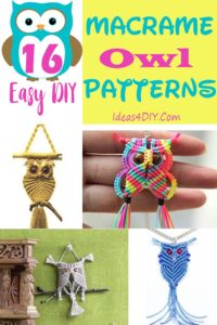 DIY Macrame Owl Patterns