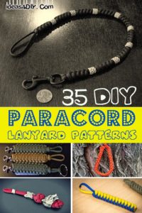 DIY Paracord Lanyard Patterns