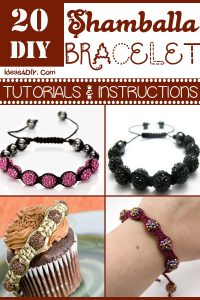 DIY Shamballa Bracelet Tutorials & Instructions