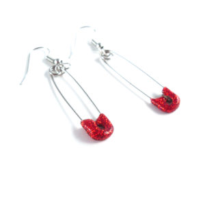 DIY Stylish Safety Pin Earrings