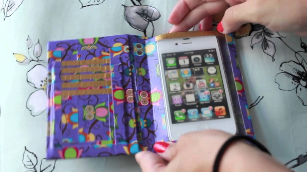 Duct Tape Phone Case Diy Ideas For Diy