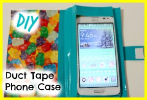 Duct Tape Phone Case Project