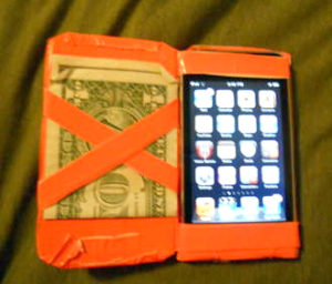 Duct Tape Phone Case Step-by-step