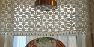 Filet Crochet Valance Patterns