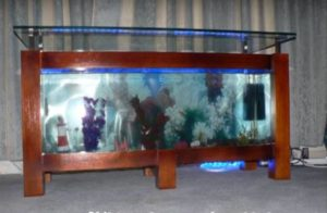 Fish Tank Coffee Table DIY