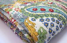 How To Make a Kantha Quilt Tutorial