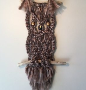 How to Make Big Macrame Owl