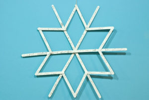 How to Make Popsicle Stick Snowflake