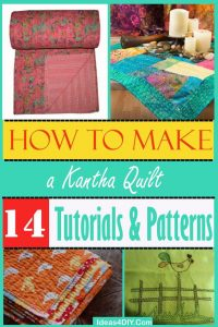 How to Make a Kantha Quilt Patterns