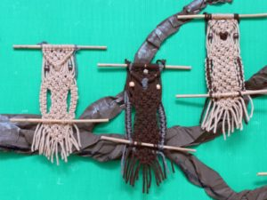How to Make a Macrame Owl Wall Hanging